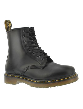 Men's 1460 8 Eye Black Smooth Leather Boots by Dr Martens