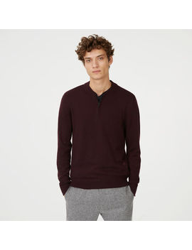 Merino Quarter Zip Sweater by Club Monaco
