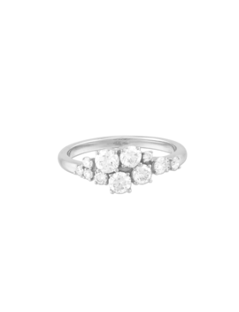 Diamonds Cluster Ring    $2000 by Mejuri