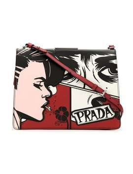 Printed Crossbody Bag by Prada
