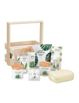 Mandarin Mint Luxury Bath & Body Gift Set, 10 Pieces by Unbranded