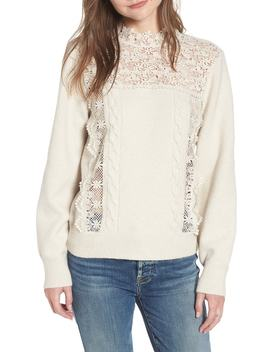 Lace Pullover by Hinge