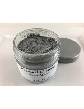 Activated Charcoal Face Mask W/Oatmeal Bentonite Clay Detox Clears Acne Facial Mask Organic Clay Mask by Etsy