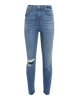 Kendall Distressed Skinny Jeans by Grlfrnd