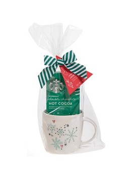 Starbucks Double Chocolate Hot Cocoa And Mug Gift Set   1oz by Shop This Collection