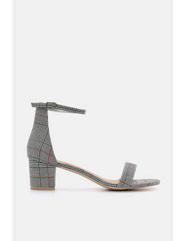 Glen Plaid D'orsay Sandals by Ardene