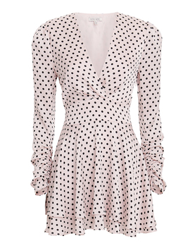 Kallow Polka Dot Mini Dress by Ronny Kobo