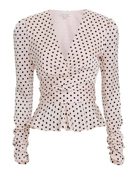 Annabelle Polka Dot Top by Ronny Kobo