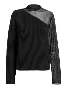 Franny Swish Black Sweater by Rt A