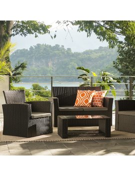 Zipcode Design Charmain Sofa Set With Cushions & Reviews by Zipcode Design