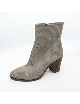 Hinge Taupe Booties Size 8.5 by Hinge