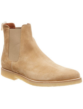 Common Projects Chelsea Suede Boot by Common Projects