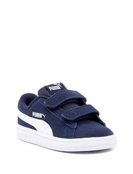 Smash V2 Suede Sneaker (Toddler) by Puma