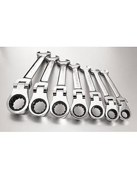 Gear Wrench 7 Pc. Standard Ratcheting Flex Head Combination Wrench Set Gear Wrench 7 Pc. Standard Ratcheting Flex Head Combination Wrench Set by Sears
