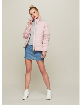 Pink Puffer Coat by Miss Selfridge