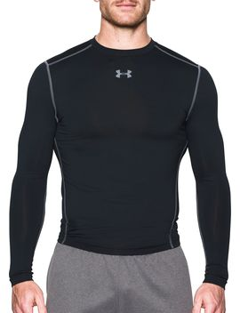 Under Armour Men's Cold Gear Armour Compression Crewneck Long Sleeve Shirt by Under Armour