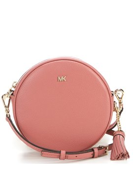 Medium Leather Canteen Bag by Michael Michael Kors