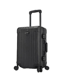 """Seattle 20"""" Aluminum Frame Spinner Carry On Luggage by Travelers Club Luggage"""