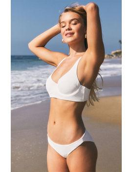 Aila Blue Bianca Bralette Bikini Top by Pacsun