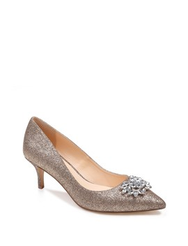 Eva Metallic Heel by American Glamour By Badgley Mischka