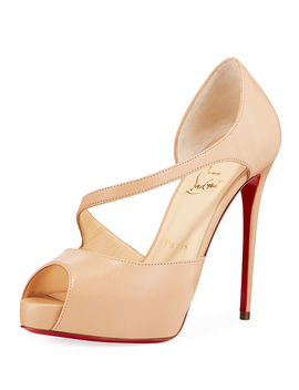 Catchy Two Red Sole Pumps by Christian Louboutin