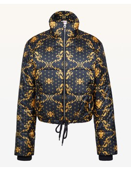 Jxjc Baroque Print Puffer Jacket by Juicy Couture