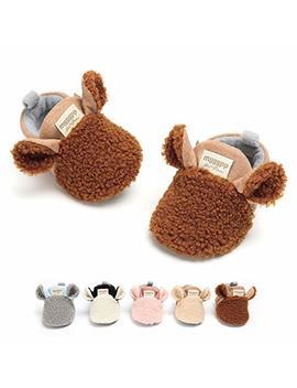 Rvrovic Baby Boys Girls Cozy Fleece Booties Non Skid Bottom Warm Winter Socks by Rvrovic