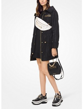 Embellished Lightweight Anorak by Michael Michael Kors