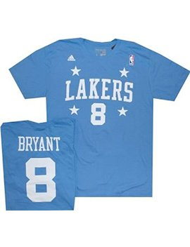 Adidas Los Angeles Lakers Kobe Bryant Player T Shirt by Adidas