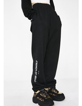 X Champion Fitted Sweatpants by Learn To Forget