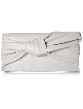 Max Studio Cira Linen Bow Clutch by Max Studio