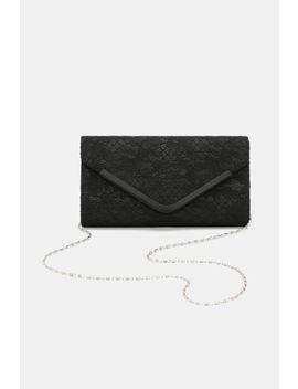 Lace Envelope Clutch by Ardene