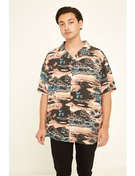 Stussy Aloha Rayon Ss Shirt Red by Universal Store