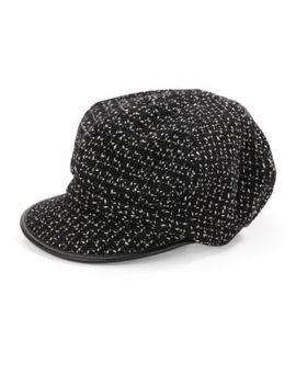 Tweed Newsboy Cap by Betmar