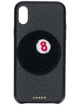 8 Ball I Phone X Case by Chaos