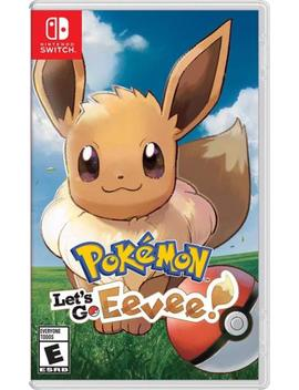 Pokémon: Let's Go, Eevee! (Nintendo Switch, 2018) Brand New by Nintendo