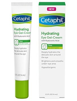 Cetaphil Hydrating Eye Gel Cream With Hyaluronic Acid   Designed To Deeply Hydrate, Brighten & Smooth Under Eye Area   For All Skin Types  ... by Cetaphil
