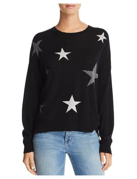 Star Intarsia Cashmere Sweater by Sundry