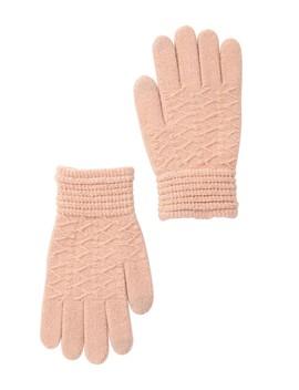 Lurex Knit Tech Gloves by Steve Madden