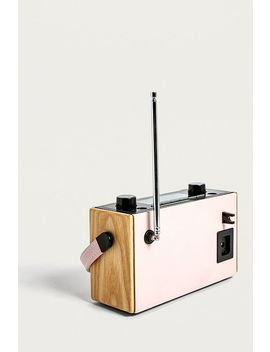 "Roberts – Radio ""Rambler"" In Rosa by Roberts Shoppen"
