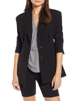 Waist Emphasis Blazer by Something Navy