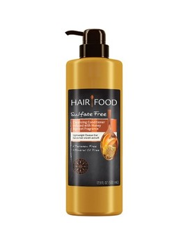 Hair Food Sulfate Free Moisture Infused Honey Apricot Cleansing Conditioner   17.9 Fl Oz by Hair Food
