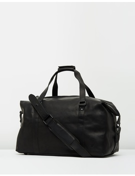 Leather Holdall by Lyle And Scott