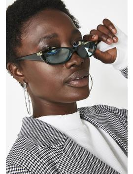 Can't Buy Love Rectangle Sunglasses by Replay