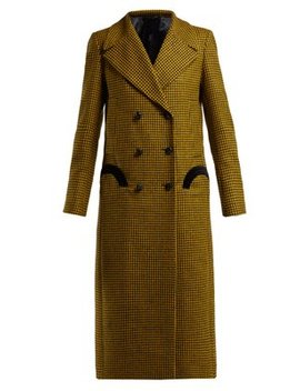 Fair & Square Checked Wool Coat by Blazé Milano