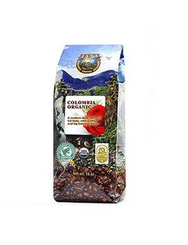 Java Planet   Colombian Usda Organic Coffee Beans, Fair Trade, Low Acid, Medium Dark Roast, Arabica Gourmet Specialty Grade A (1lb) by Java Planet