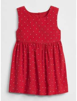 Cord Dot Tank Dress by Gap