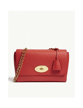 Lily Grained Leather Medium Shoulder Bag by Mulberry