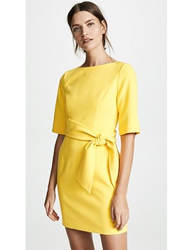 Virgil Boatneck Dress by Alice + Olivia