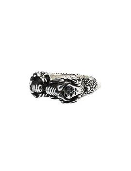 Tiger Heads Ring by Gucci